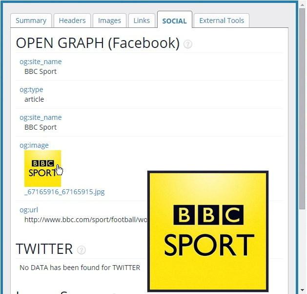 Social Tab, Facebook, Twitter, Schema.org - SEO Meta Data Extension